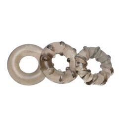 3 pcs set Delay Ejaculation Cock Ring Penis Ring Crystal ring