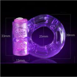Clit Stimulation, Elastic delay ring, Premature Ejaculation Lock Vibrator 3