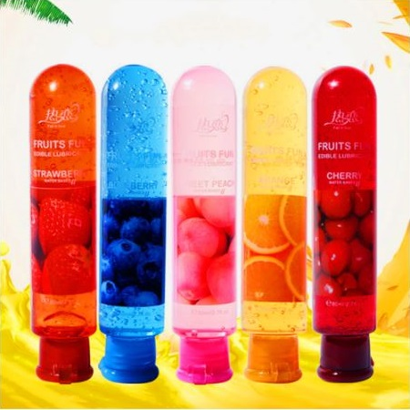 Fruit Flavour Lubricant Water Based Oil Sex Lube Body Intimate Massage Oil 1