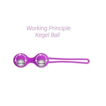 Soft Silicone Kegel Ball Vaginal Tightening Exercise Ball For Women 5