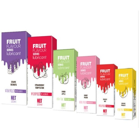120ml Fruit Flavoured Series Water Based Lubricant