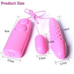 Fashion Barbie Dual Vibrating Egg Size 2